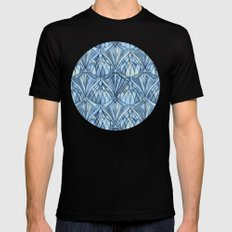 View From a Blue Window Mens Fitted Tee Black 2X-LARGE