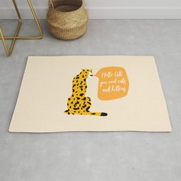 Cool cats and kittens Rug