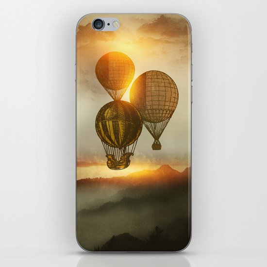A Trip down the Sunset iPhone & iPod Skin