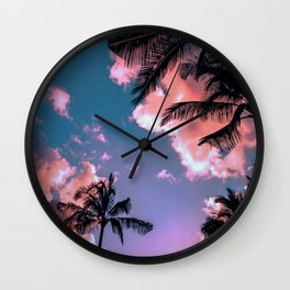 Sunset Skies Wall Clock