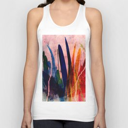 marsh grass Unisex Tank Top