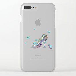 Cinderella's Shoe Clear iPhone Case