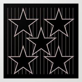 stars 7 Art Print