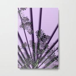 Floral Fanfare Metal Print