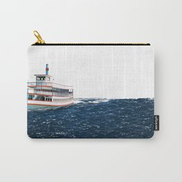Steamboat on Water Carry-All Pouch