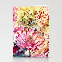 aelwen Stationery Cards featuring waterlily by clemm