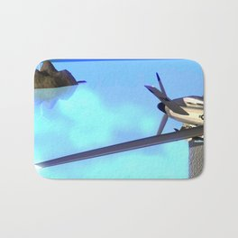 Fly: Far Far Away Bath Mat