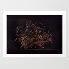 Goat Creep Art Print