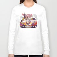 "karu kara Long Sleeve T-shirts featuring "" ON THE ROAD AGAIN "" by Karu Kara"
