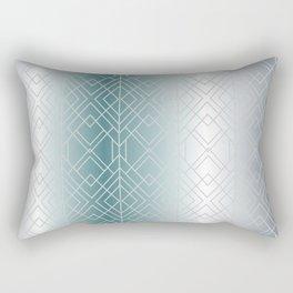 Silver Decor Rectangular Pillow