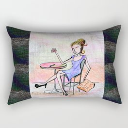 A Choosy Beggar Rectangular Pillow