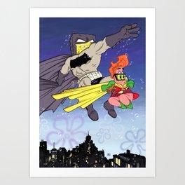 DarkBob KnightPants Art Print