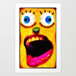 Boxface #3 Art Print