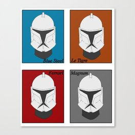 Magnum Trooper Canvas Print