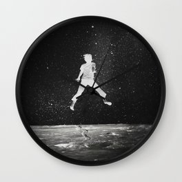 Over the Moon [version2] Wall Clock