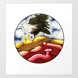 Ghost Ranch #2 Art Print