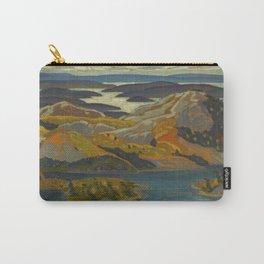 Canadian Landscape Oil Painting Franklin Carmichael Art Nouveau Post-Impressionism Grace Lake 1931 Carry-All Pouch