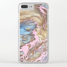 Woody Pink Clear iPhone Case