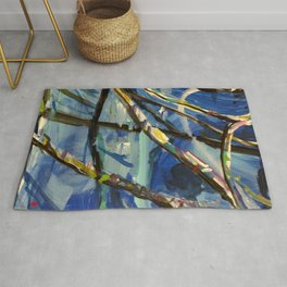 Abstract Expressions Nature Rug