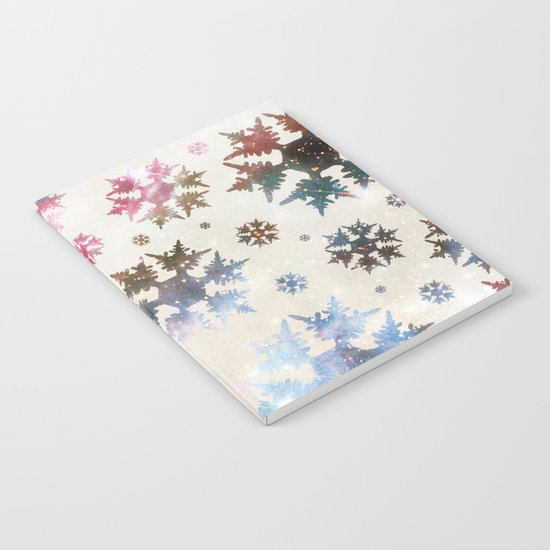 Star Snow Notebook