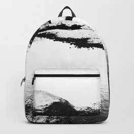 Reflection in the snow Backpack