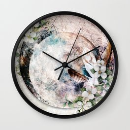 Strawberry Moon Wall Clock