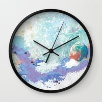 snail Wall Clocks featuring Snail by ARTION