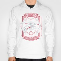 rogue Hoodies featuring Rogue Leader by Buzatron
