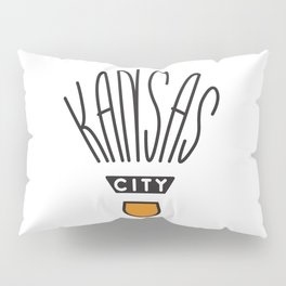 Kansas City Shuttlecock Type Pillow Sham
