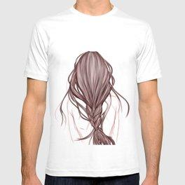 The Brown Hair Girl T-shirt