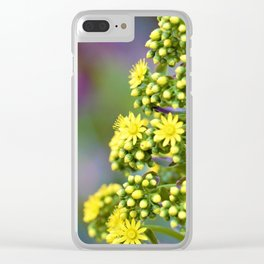 Mellow Yellow Floral by Reay of Light Photography Clear iPhone Case