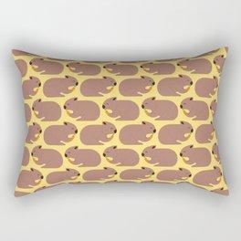 Wombat Loves Carrot I Rectangular Pillow