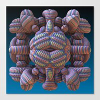 totem Canvas Prints featuring Totem by Lyle Hatch