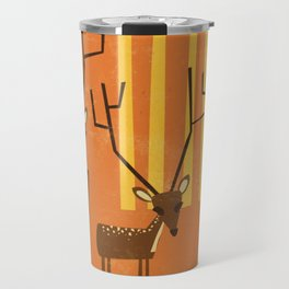 Woodland Deer Travel Mug