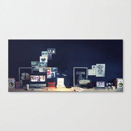 Studio Tour: For The Bold Canvas Print