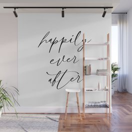 Happily Ever After Wall Mural