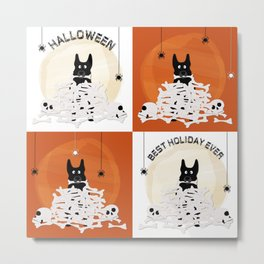 halloween shepherd 2 Metal Print