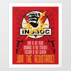 Join The Resistance Art Print