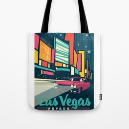 Las vegas vintage mode Tote Bag