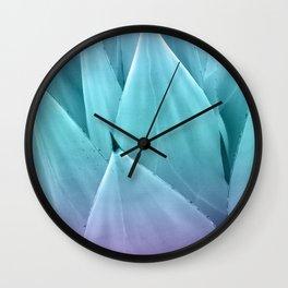 Agave Vibes #1 #tropical #decor #art #society6 Wall Clock