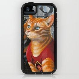 Cat Gordon and Dale Purrden iPhone Case