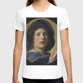 "Frans Hals ""A tronie study of the head and right hand of a boy"" T-shirt"
