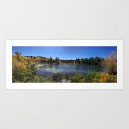 Cozy Lake Art Print