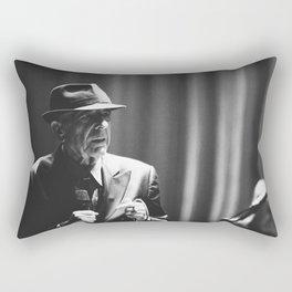 Leonard Cohen concert photo Rectangular Pillow
