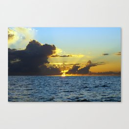 Sunset on the Gulf of Mexico Canvas Print