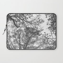 Grey Trees Abstract Laptop Sleeve