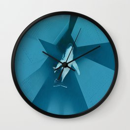 Abyss and Whale Wall Clock