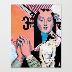 Fantasme Numérique Canvas Print