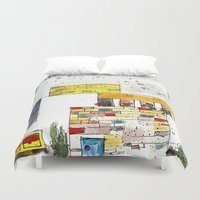 urban Duvet Covers featuring Urban by Tonya Doughty