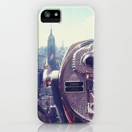 New York City view iPhone Case